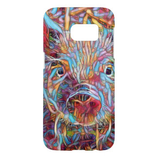Animal ArtStudio- funky piglet Samsung Galaxy S7 Case