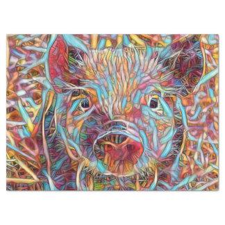 Animal ArtStudio- funky piglet Tissue Paper