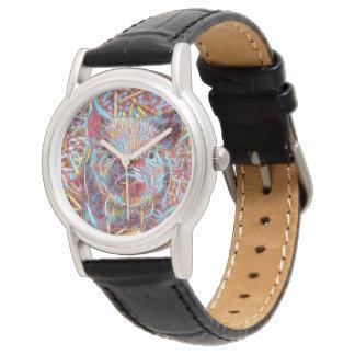 Animal ArtStudio- funky piglet Wrist Watches