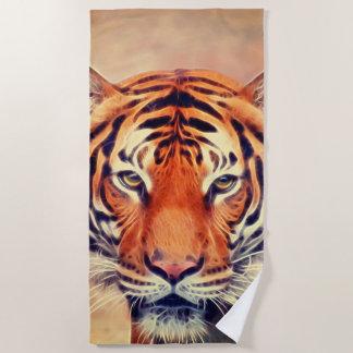 Animal ArtStudio The Tiger Beach Towel