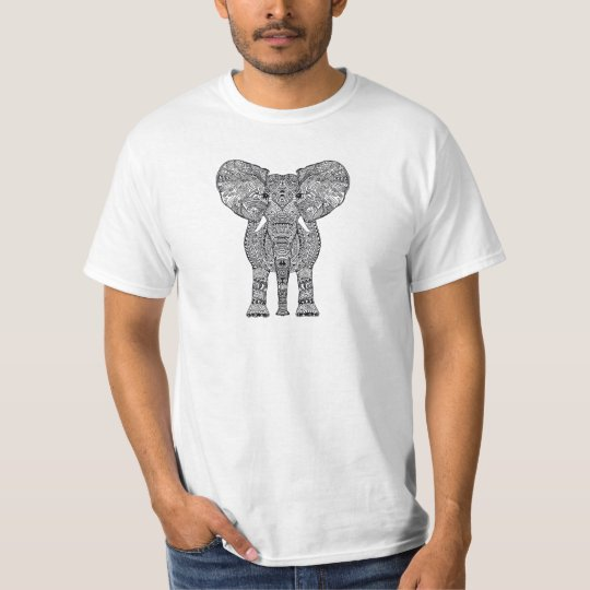 animal aztec pattern T-Shirt