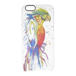 Animal Bird Parrot Clear iPhone 6/6S Case