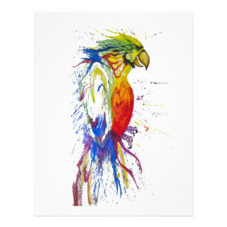 Animal Bird Parrot Personalized Flyer