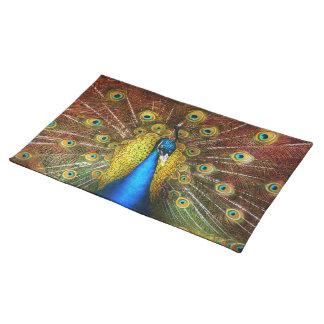 Animal - Bird - Peacock proud Placemat