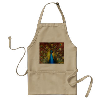 Animal - Bird - Peacock proud Standard Apron