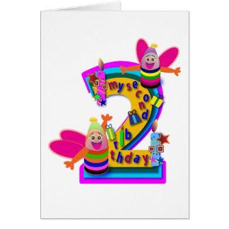 Animal Birthday cards: Second Birthday Card
