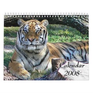 Animal Calendar, 2008 Calendars
