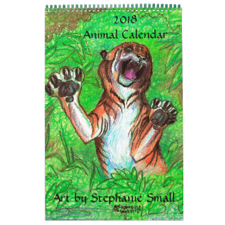 Animal Calendar Wild Animal Pets Zebra Horse 2018
