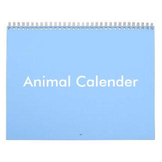 Animal Calender Calendars