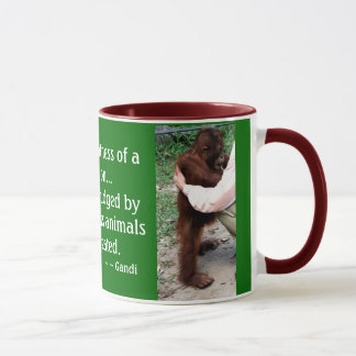 Animal Care Quotation Mug