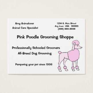Animal Care Specialist Business Card