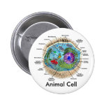 Animal Cell 2 Inch Round Button
