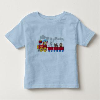 Animal Choo-Choo Train Toddler T-shirt