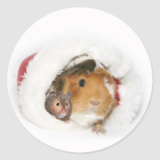 Animal Christmas sticker