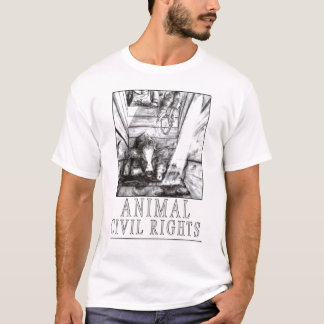 Animal Civil Rights (B) T-Shirt