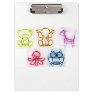 Animal Colors Clipboards