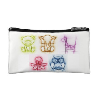 Animal Colors Cosmetic Bag