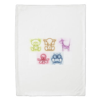 Animal Colors Duvet Cover
