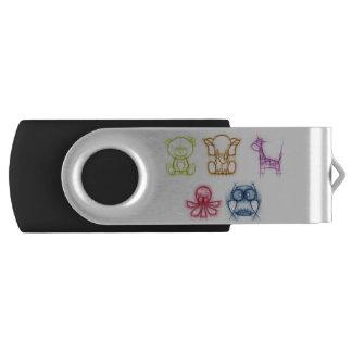 Animal Colors USB Flash Drive