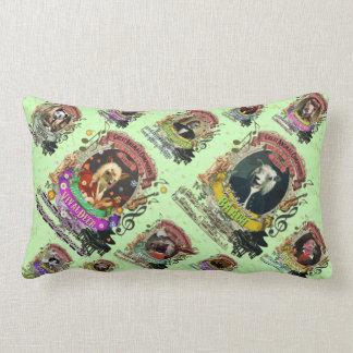 Animal Composers Spoof Music Lumbar Pillow