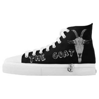 Animal cool gift Goat black sneakers shoes