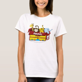 Animal Crackers Baby Doll T-shirt
