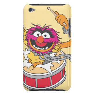 Animal Crashing Through Drums Barely There iPod Cases