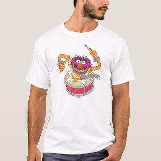 Animal Crashing Through Drums T-Shirt