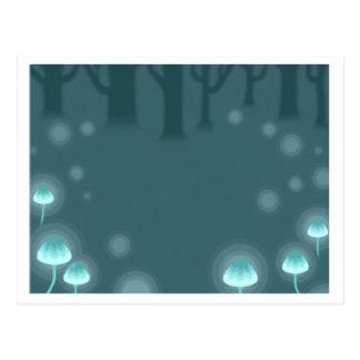 Animal Crossing New Leaf Forest Glow Stationary Postcard