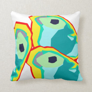 Animal Decor#13d Throw Pillows; Changeable Colors Throw Pillow