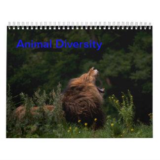 Animal Diversity Wall Calendars