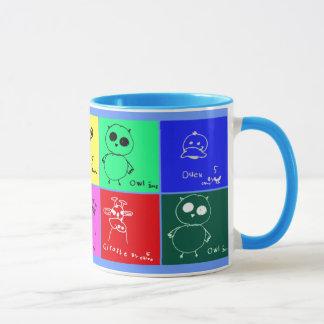 Animal Drawings Mug