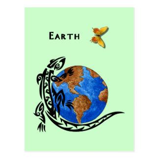 Animal Earth Postcard