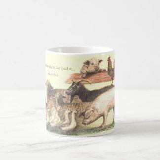 Animal Farm e-i-e-i-o-o Hot Mug