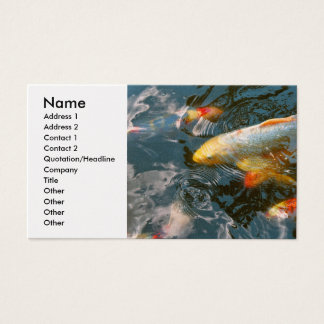 Animal - Fish - Bestow good fortune Business Card