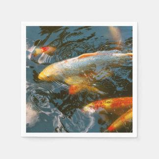 Animal - Fish - Bestow good fortune Disposable Napkin