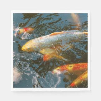 Animal - Fish - Bestow good fortune Disposable Napkins