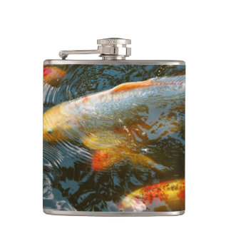 Animal - Fish - Bestow good fortune Hip Flask