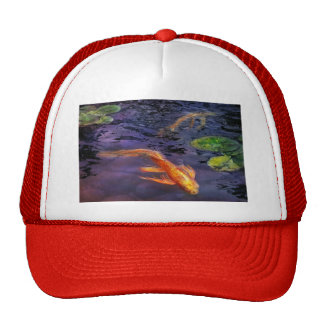Animal - Fish - There's something about koi Trucker Hat