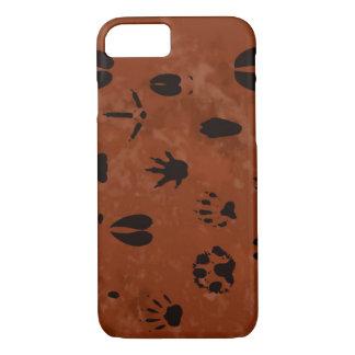 Animal Footprint Phone Case