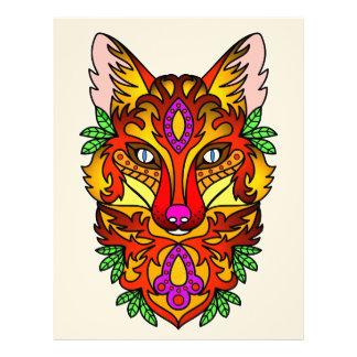 Animal Fox Custom Letterhead