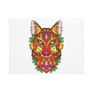 Animal Fox Doormat