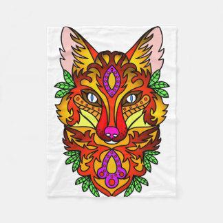 Animal Fox Fleece Blanket