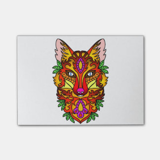 Animal Fox Post-it Notes