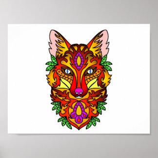 Animal Fox Poster