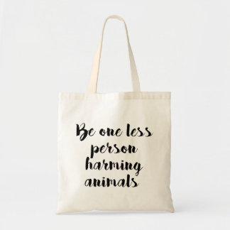 Animal Friendly Tote Bag