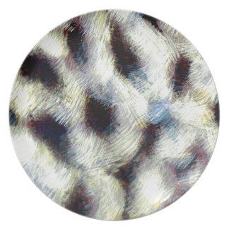 Animal Fur Art 2 Plate