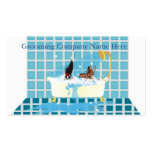 Animal Grooming Appointment Business Cards