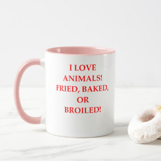 animal hater mug