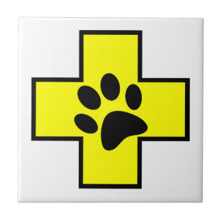 animal help cross veterinary symbol sign doctor pe tile